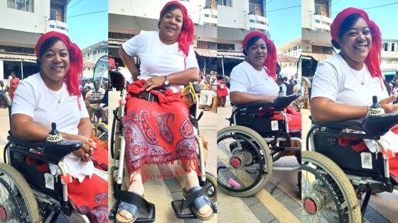 Le sourire contagieux de Priscilla : «Je ne suis pas handicapée, nous sommes tous des autrement capables»