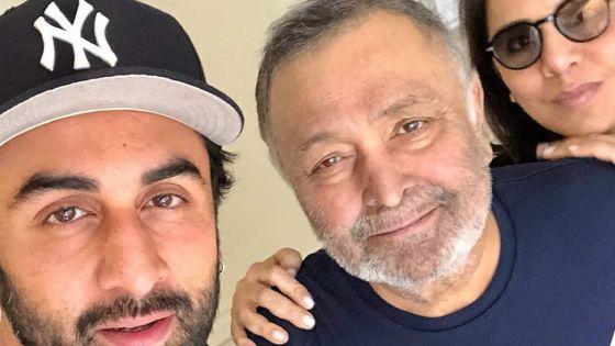 Rishi Kapoor célébrera son 67e anniversaire en Inde