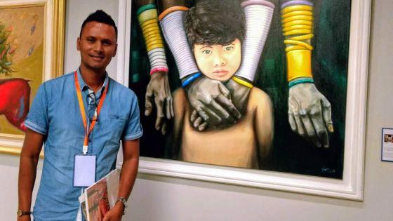 Asvind Dookhorun : la diversité de Maurice exposée à Beijing