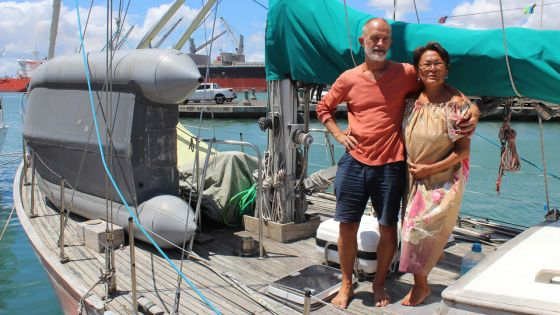 Jens Erik and Dorthe Kjeldsen : Nordic Couple in the Midst of Seafaring Adventures