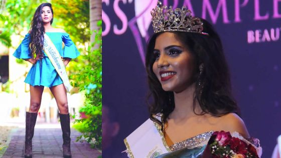 Nidhishwaree Ruchpaul : «Une Miss, ce n'est pas seulement un top-modèle mais aussi un rôle modèle»