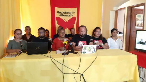 Nomination Day : « On aura recours à la justice si notre candidature est rejetée », déclare Dany Marie de Rezistans ek Alternativ