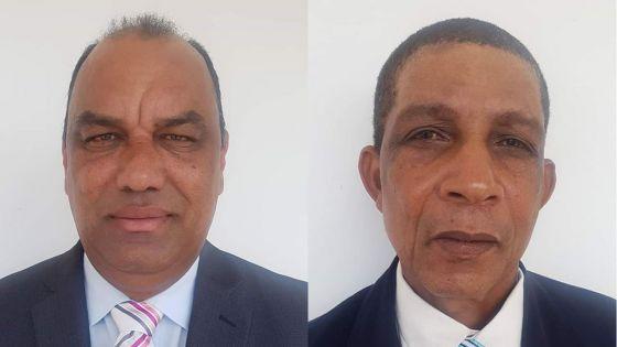Législatives 2019 – Rodrigues : Johnson Roussety et Joseph Romell Farla défendront les couleurs du Front Patriotique Rodriguais écologique