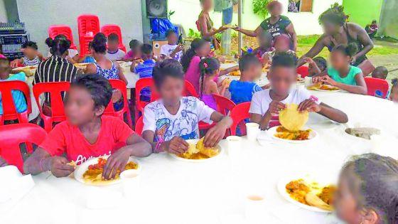 En100ble, en collaboration avec  la fondation Holdem, organise une journée d'activités pour des enfants