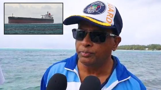Navire naufragé à Pointe-d'Esny : pas de gros dégâts ni d'entrée d'eau dans le bateau