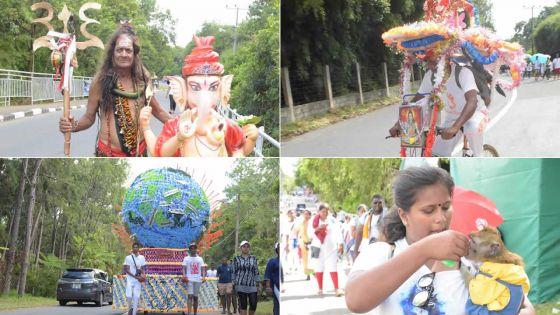 Pèlerinage de Maha Shivaratree : haut en couleur
