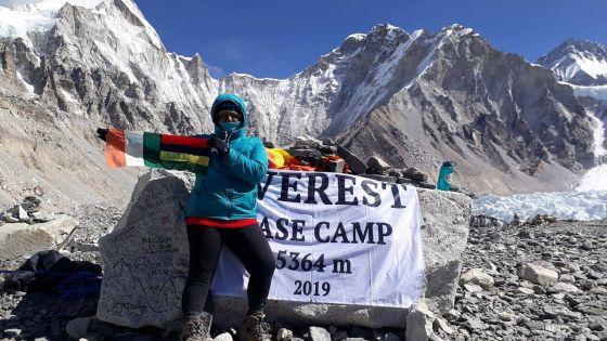 Bharattee Devi Udhin : une Mauricienneà la conquête de l'Everest