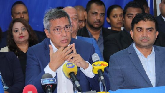 Xavier-luc Duval : «Vishnu Lutchmeenaraidoo doit des explications»