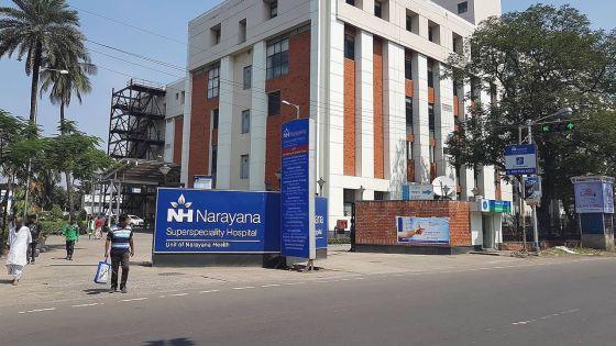 Hôpital Narayana Hrudayalaya à Bangalore en Inde