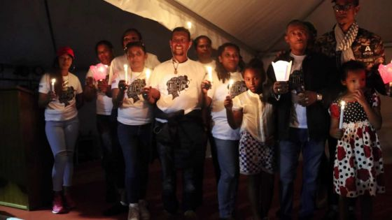 La 36e édition de l'Aids CandleLight Memorial à Floréal
