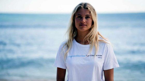 #IspeakBlueToo - Eve Isambourg : «Je veux me battre pour la planète bleue»