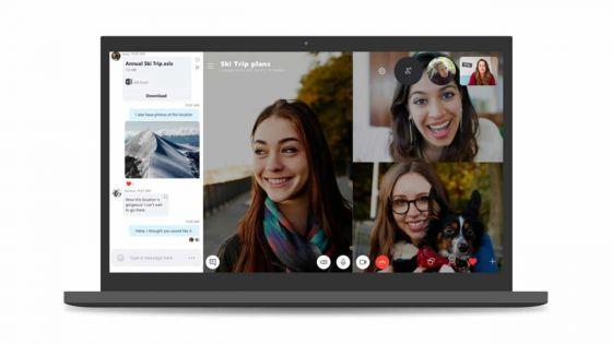 Skype adopte les codes des réseaux sociaux