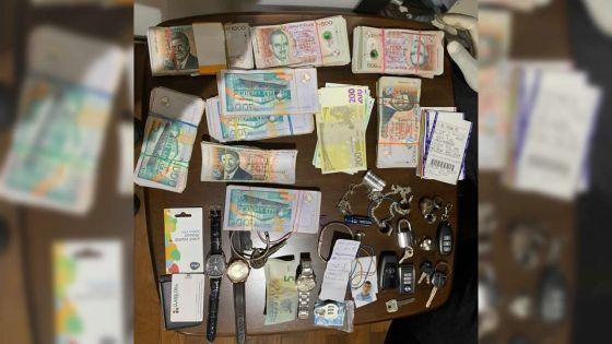 Descente de l'Adsu : documents accablants, devises et actes de propriétés saisis chez un loueur de voitures