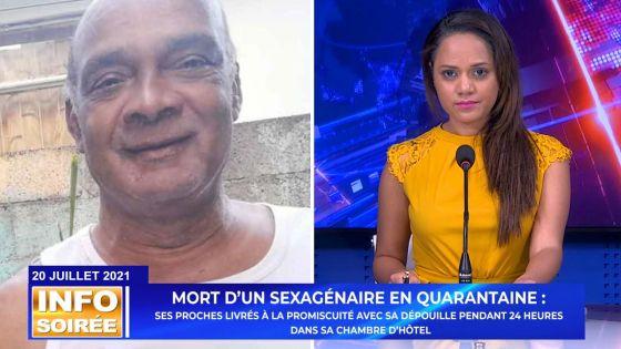 Info Soirée - Son neveu : «Inn komans fer loder, imposib pou nou zanfan reste»