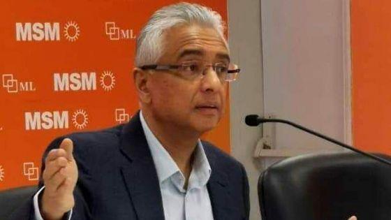 Bureau Politique et Comité central du MSM -Pravind Jugnauth : «J'ai étéélu démocratiquement»