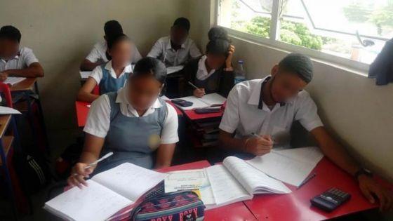 Les enseignants s'inquiètent du niveau des élèves de Grade 9