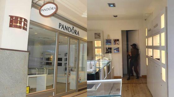 Au Caudan : un homme prend en otageune employée de Pandora