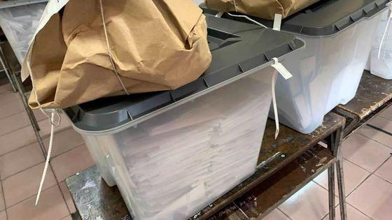 Bulletins bien rangés dans une urne -XLD: «Il faut une reconstitution»