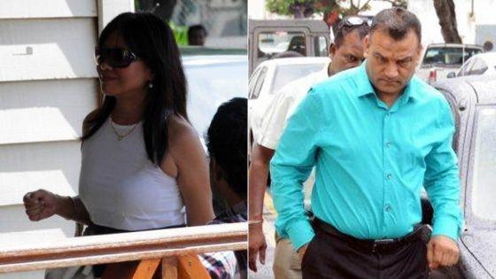 Sommé de payer Rs 13,9 millions : le couple Ramnarainessuie un nouveau revers