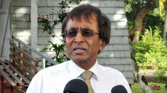 Anil Gayan se dit victime de lynchage