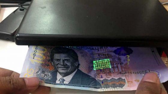 Faux-monnayeurs :50 faux billets de Rs 1000 saisiset six suspects arrêtés