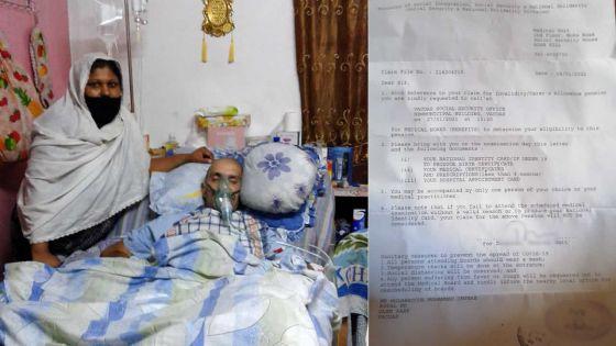 Victime d'une attaque cérébrale à trois reprises :Imteaz, 44 ans, clouéau lit, a besoin d'aide