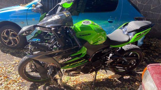 À Vallée-des-Prêtres : un motocycliste de 16 ans fauche une femme de 70 ans