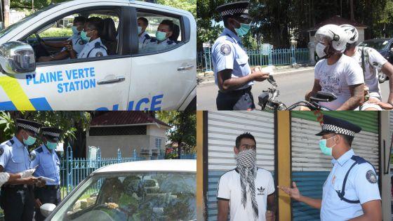 Patrouilles préventives et sensibilisation - la police à l'heure du Covid-19