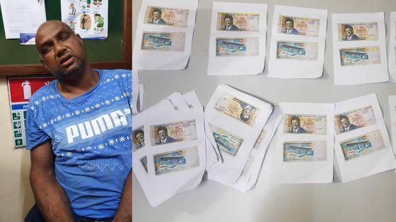 Après des mois d'enquête : un faussaire de billets épinglé par le SARS