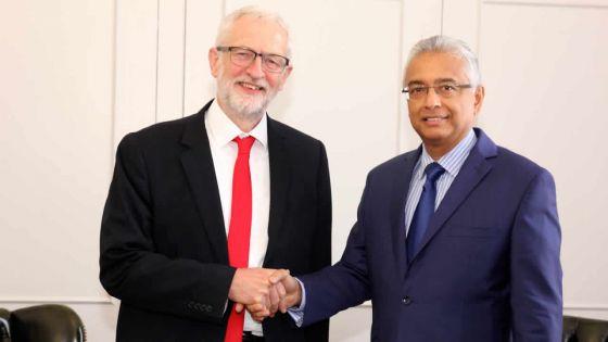 Résolution sur les Chagos aux Nations Unies : Corbyn assure le PM du soutien du Parti travailliste britannique
