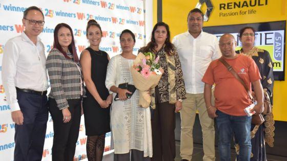 Bel Bel Loterie de Winners : remise de prix aux sept gagnants