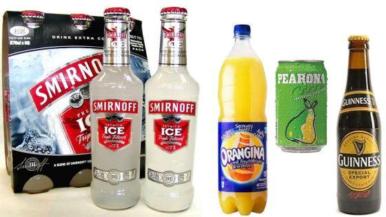 Guinness, Orangina, Pearona et Smirnoff Ice : les prix en hausse
