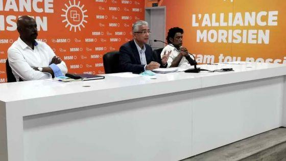 Comité central du MSM -Pravind Jugnauth : «Un devoir de cimenterles relations entre communautés»