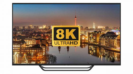 Sharp commercialisera en novembre les premières TV au format 8K