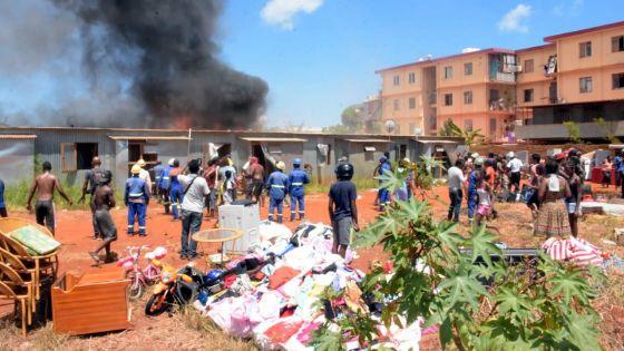 24 maisons détruites par un violent incendie : les sinistrés, entre détresse et désolation