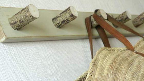 Portemanteau en bois
