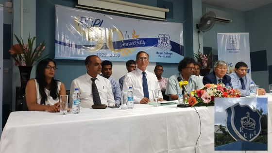Anniversary of the Royal College of Port Louis : 90 years Excelling in Education