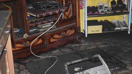 À Sainte-Croix : le feu éclate dans une maison en l'absence des occupants
