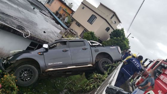 Accident à Floréal : «Monn trouv 4x4 inn fini rant andan»