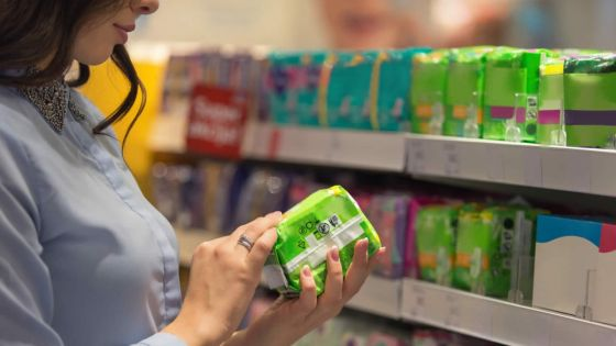 Acheter « malin » - serviettes hygiéniques : informations insuffisantes