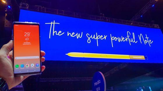 Samsung Galaxy Note9 : technologie de pointe...  sans réelle nouveauté