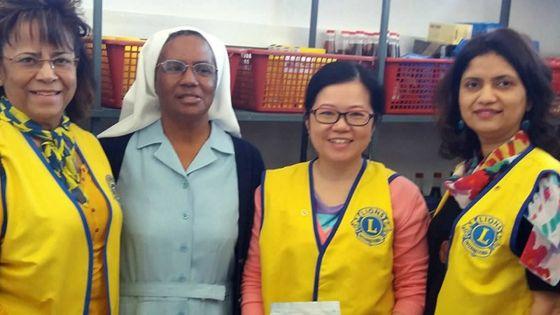 Présidente du Lions Club Curepipe -Evelyn Kee Mew Wan Khin : «Je suis au service de la communauté»