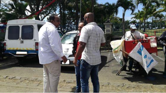 Participation à des activités politiques -Rajen Narsinghen : «J'y ai assisté en tant que citoyen»