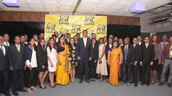 Le Reform Party présente 37 candidats