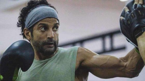 Toofan : Farhan Akhtar se blesse en pratiquant la boxe