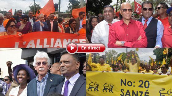 Législatives 2019 - Ne ratez rien du Nomination Day : suivez notre fil rouge