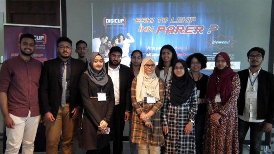 Concours sur des solutions Digitales -La Digicup : les étudiants en TIC en scène