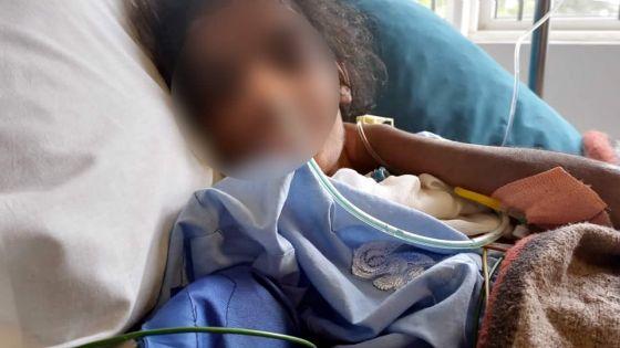 Victime de violence conjugale :Disha, 18 ans, sous respiration artificielle à l'Intensive Care Unit