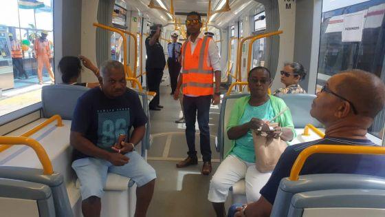 Metro Express : 101,000 passagers ont voyagé à bord des trams du 10 au 16 janvier