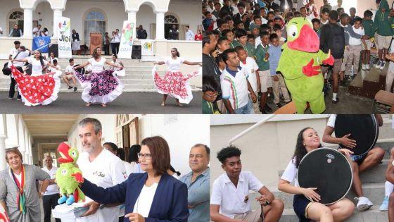 [En images] JIOI : la fièvre des jeux gagne le collège St-Joseph
